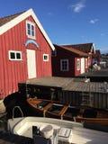 Αλιεύοντας καλύβες Στοκ φωτογραφία με δικαίωμα ελεύθερης χρήσης