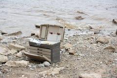 Αλιεύοντας κιβώτιο εξοπλισμών Στοκ εικόνα με δικαίωμα ελεύθερης χρήσης