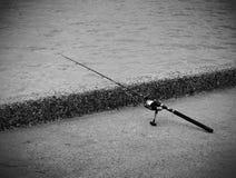 Αλιεύοντας ράβδος Στοκ φωτογραφία με δικαίωμα ελεύθερης χρήσης