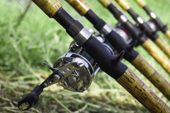 Αλιεύοντας ράβδος Στοκ εικόνες με δικαίωμα ελεύθερης χρήσης