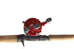 Αλιεύοντας ράβδος Στοκ φωτογραφίες με δικαίωμα ελεύθερης χρήσης