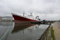 αλιεύοντας σκάφη Στοκ Εικόνα