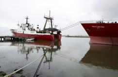 αλιεύοντας σκάφη Στοκ Εικόνες