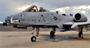 Α-10 κεραυνός II/Warthog Στοκ φωτογραφίες με δικαίωμα ελεύθερης χρήσης