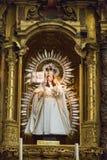 Αλκόβα στην καθολική εκκλησία στοκ φωτογραφία με δικαίωμα ελεύθερης χρήσης