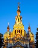 Αλμάτι - καθεδρικός ναός ανάβασης Στοκ Εικόνα