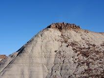 Αλμπέρτα Badlands και γεωλογικοί σχηματισμοί Στοκ εικόνα με δικαίωμα ελεύθερης χρήσης
