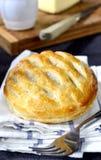 Αλμυρή πίτα δικτυωτού πλέγματος Flakey Στοκ Φωτογραφίες
