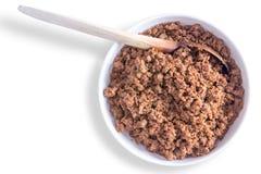 Αλμυρό έδαφος ή κομματιασμένο μίγμα βόειου κρέατος για τα tacos στοκ εικόνες