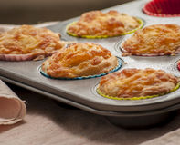 Αλμυρό Muffin στοκ εικόνες