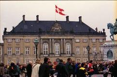 Α.Μ. ΒΑΣΙΛΙΣΣΑ MARGRETHE ΙΙ ΓΕΝΕΘΛΙΑ Στοκ φωτογραφία με δικαίωμα ελεύθερης χρήσης