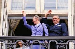 Α.Μ. ΒΑΣΙΛΙΣΣΑ MARGRETHE ΙΙ ΓΕΝΕΘΛΙΑ Στοκ εικόνες με δικαίωμα ελεύθερης χρήσης