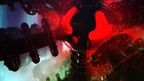 Αλλοδαπά μηχανήματα επιστημονικής φαντασίας Στοκ εικόνα με δικαίωμα ελεύθερης χρήσης