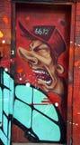 Αλλοδαπός του Μόντρεαλ τέχνης οδών Στοκ φωτογραφίες με δικαίωμα ελεύθερης χρήσης