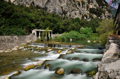 αλπικός ποταμός Στοκ φωτογραφία με δικαίωμα ελεύθερης χρήσης