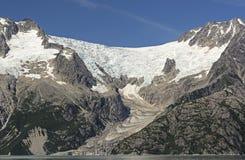 Αλπικός τίτλος παγετώνων στον ωκεανό στοκ φωτογραφία