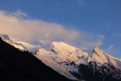 αλπικό βουνό τοπίων Στοκ εικόνες με δικαίωμα ελεύθερης χρήσης