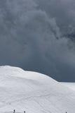 αλπικό βουνό τοπίων Στοκ Εικόνες