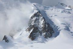 αλπικό βουνό τοπίων Στοκ Φωτογραφία