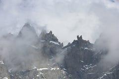 αλπικό βουνό τοπίων Στοκ Εικόνα