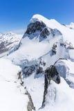 Αλπικό τοπίο βουνών Άλπεων σε Matterhorn Ελβετία Στοκ εικόνες με δικαίωμα ελεύθερης χρήσης