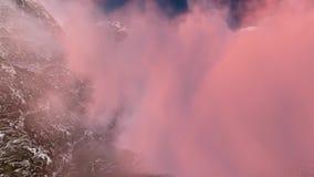Αλπικό τοπίο στις Άλπεις απόθεμα βίντεο