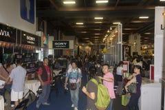 14α πολυμέσα της Ταϊπέι, βιομηχανίες & μάρκετινγκ EXPO σύννεφων Στοκ Εικόνα