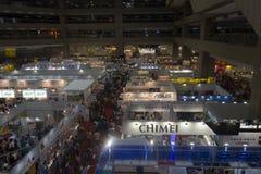 14α πολυμέσα της Ταϊπέι, βιομηχανίες & μάρκετινγκ EXPO σύννεφων Στοκ Φωτογραφία