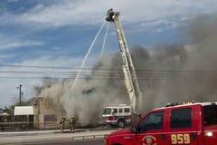 2$α πυρκαγιά ΙΙΙ συναγερμών Στοκ Εικόνα