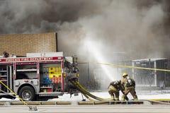 2$α πυρκαγιά Ι συναγερμών Στοκ Φωτογραφία