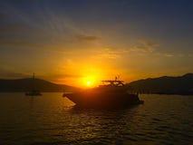 αδριατικά γιοτ θάλασσα&sigma Στοκ Εικόνα