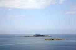 Αδριατική θάλασσα κοντά σε Plat Δαλματία Κροατία Στοκ Εικόνα