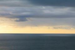 Αδριατική θάλασσα (Μαυροβούνιο, χειμώνας) Στοκ Εικόνες