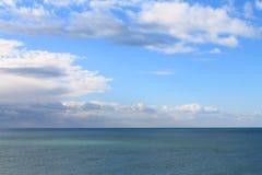 Αδριατική θάλασσα (Μαυροβούνιο, χειμώνας) Στοκ Φωτογραφίες