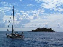Αδριατική θάλασσα, Μαυροβούνιο Στοκ Φωτογραφία