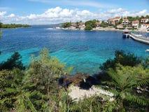 αδριατική μπλε θάλασσα δ στοκ φωτογραφίες με δικαίωμα ελεύθερης χρήσης