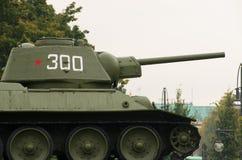 2$α ρωσική δεξαμενή παγκόσμιου πολέμου Στοκ Εικόνα