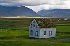 19α σπίτια τύρφης αιώνα στο αγρόκτημα Glaumbaer Στοκ εικόνες με δικαίωμα ελεύθερης χρήσης