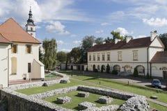 Αλυκές Castle σε Wieliczka κοντά στην Κρακοβία στοκ εικόνα με δικαίωμα ελεύθερης χρήσης