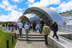 Αλυκή Turda αλατισμένου ορυχείου στη Ρουμανία Στοκ εικόνα με δικαίωμα ελεύθερης χρήσης