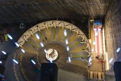 Αλυκή Turda αλατισμένου ορυχείου στη Ρουμανία Στοκ φωτογραφία με δικαίωμα ελεύθερης χρήσης