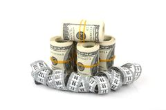 Αδυνάτισμα για τα χρήματα Στοκ Εικόνα