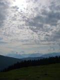 Αλυσίδα βουνών Στοκ Εικόνα