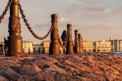Αλυσίδα και Granit Στοκ φωτογραφία με δικαίωμα ελεύθερης χρήσης
