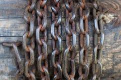 αλυσίδα παλαιά Στοκ φωτογραφία με δικαίωμα ελεύθερης χρήσης