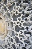 Αλυσίδα σε μια ρόδα Στοκ φωτογραφία με δικαίωμα ελεύθερης χρήσης