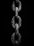 αλυσίδα σκουριασμένη Στοκ εικόνες με δικαίωμα ελεύθερης χρήσης