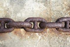 αλυσίδα σκουριασμένη Στοκ Φωτογραφία