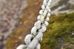 Αλυσίδα του σιδήρου Στοκ εικόνες με δικαίωμα ελεύθερης χρήσης