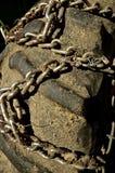 Αλυσίδα τρακτέρ για τη μεγάλη έλξη Στοκ φωτογραφίες με δικαίωμα ελεύθερης χρήσης